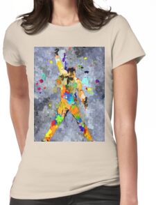 Freddie Grunge Womens Fitted T-Shirt