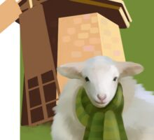 Windmill sheep  Sticker