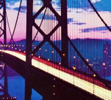 San Francisco, Golden Gate Bridge Sticker