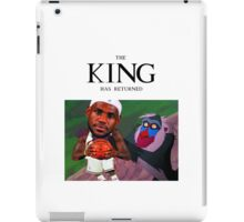Lebron James - The king has returned  iPad Case/Skin