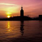 Stockholm -- City Hall by Paul Davis