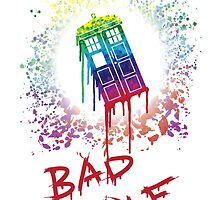 Bad Wolf - Doctor Who by gaactic