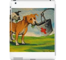Selfish Pit Bull Dogs!~Whimsical~Sarcasm~Love~Dog iPad Case/Skin