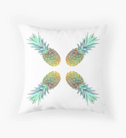 pineapples crux Throw Pillow