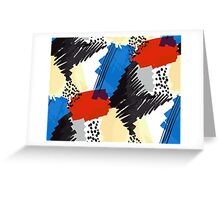 Primary Scribbles Greeting Card