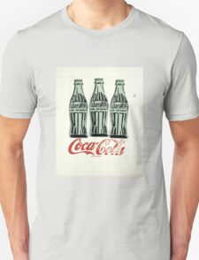 Andy Warhol - Coca Cola Bottles Unisex T-Shirt