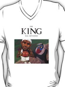 Lebron James - The king has returned  T-Shirt