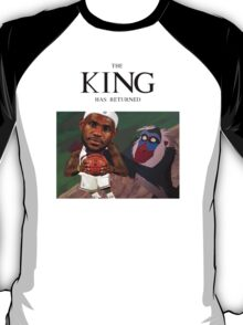 Lebron James - The king has returned  T-Shirt
