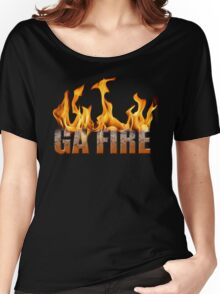 Georgia Fire Women's Relaxed Fit T-Shirt