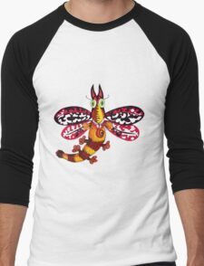 CatMoth Men's Baseball ¾ T-Shirt
