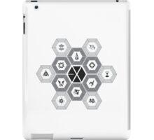 EXO - Hexagons (For Light Colours) iPad Case/Skin