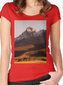 San Juan Mountains Colorado Women's Fitted Scoop T-Shirt