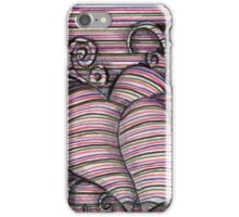 Heart 3d style line iPhone Case/Skin