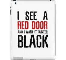 Paint It Black The Rolling Stones Lyrics iPad Case/Skin