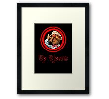 Up Bjours Framed Print