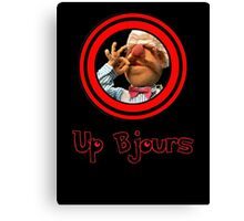 Up Bjours Canvas Print