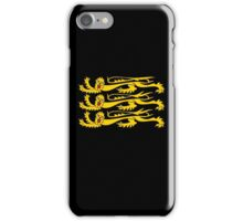 Royal Banner of England, Heraldry, Team, Sport, Three Lions, 3 Lions, History, Blighty, English, British, UK iPhone Case/Skin