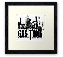 Gas Town Framed Print