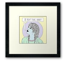 Threat Of Joy Framed Print