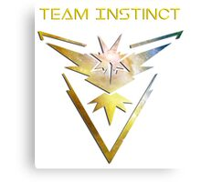 Pokemon Go - Team Instinct Canvas Print