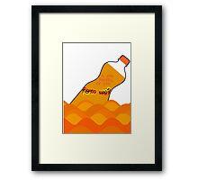 Fanta sea Framed Print