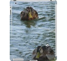 Ducks In a Row iPad Case/Skin