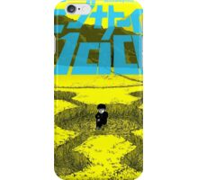mob psycho 100 cover iPhone Case/Skin
