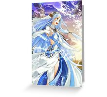 Fire Emblem Fates - Azura Greeting Card