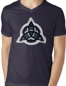 Urban Triquetra Mens V-Neck T-Shirt