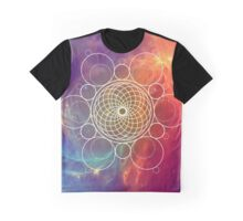 Dream Catcher in the Space Rye Graphic T-Shirt