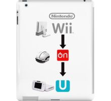 Nintendo Wii On U iPad Case/Skin