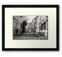 The Known City Framed Print