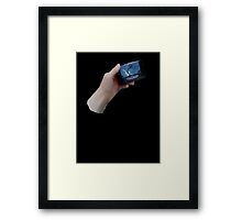 "Need a ""Hand""? Framed Print"