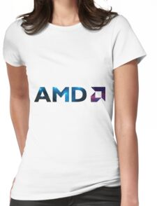 AMD Space Womens Fitted T-Shirt