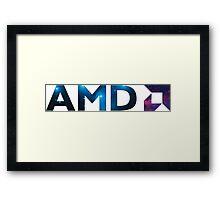 AMD Space Framed Print