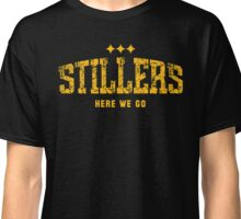 STILLERS DISTRESSED (gold) Classic T-Shirt
