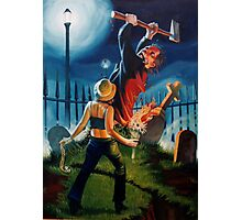 Night of the Living Dead Lover Photographic Print