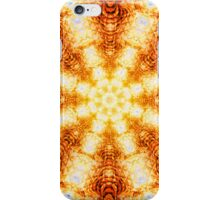 Undulating Tunnels of Molten Light - Abstract Fractal Art iPhone Case/Skin