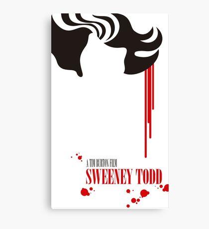 Sweeney Todd Canvas Print