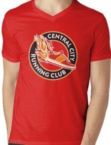 Central City Running Club Mens V-Neck T-Shirt