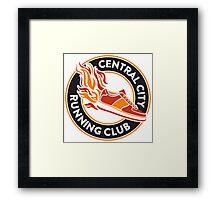 Central City Running Club Framed Print