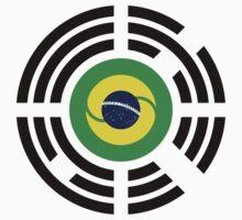Korean Brazillian Multinational Patriot Flag Series Baby Tee