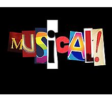 Musical! Photographic Print