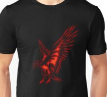 Flying Eagle, red Unisex T-Shirt
