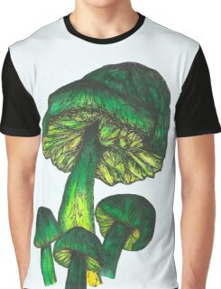 Parrot Toadstool Graphic T-Shirt