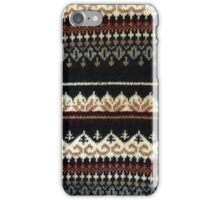 Vintage Sweater iPhone Case/Skin