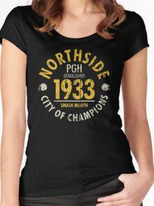 NORTHSIDE 1933 (vintage) Women's Fitted Scoop T-Shirt