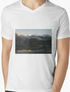 Mountain Mirror - Landscape Photography Mens V-Neck T-Shirt