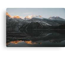 Mountain Mirror - Landscape Photography Canvas Print