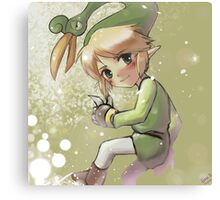 Link, The Legend of Zelda, The Minish Cap Canvas Print